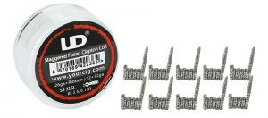 UD Staggered Fused Clapton (SS316L, 10st)