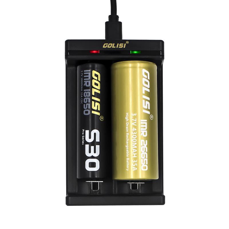 bild golisi needle-2 med 2 sorters batterier 21700 och 26650 storlek