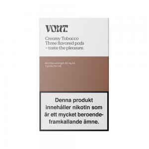 Vont Pod 3-pack (Creamy Tobacco)