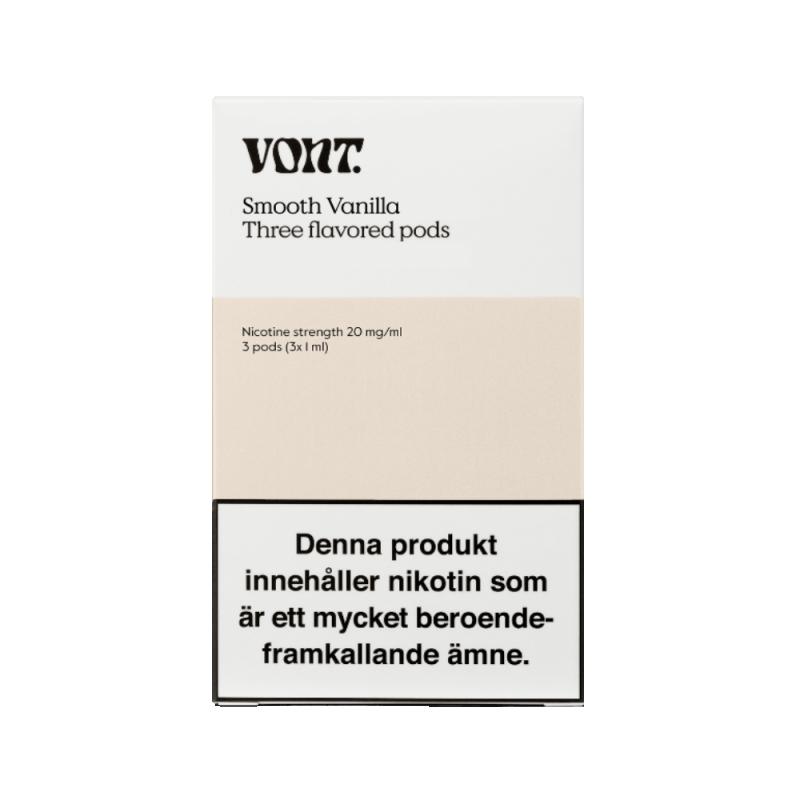 Vont Pod 3-pack 20mg (Smooth Vanilla)