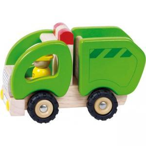 Goki Sopbil i trä Grön