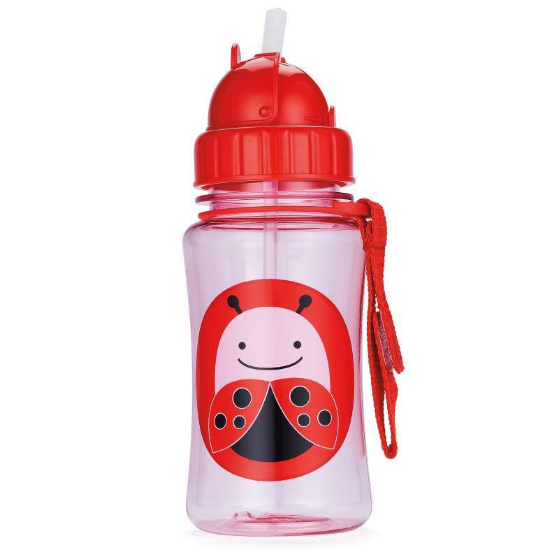 Skip Hop Bottle With Straw Zoo Lovebug