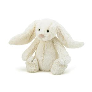 Jellycat Gosedjur Bashful Cream Kanin Medium
