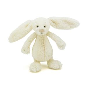 Jellycat Gosedjur Bashful Cream Kanin Small