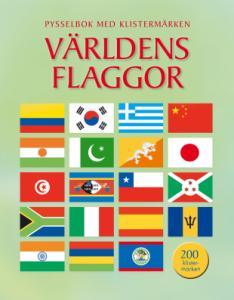 Tukan Förlag Världens Flaggor Pysselbok med Klistermärken