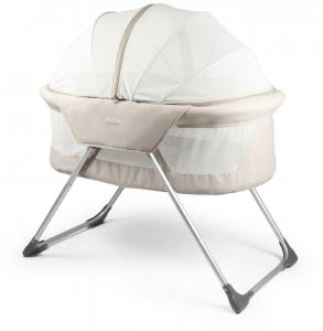 Inovi, Cocoon Bassinet / Travel Cot - Sand