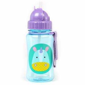 Skip Hop Bottle With Straw Zoo Unicorn