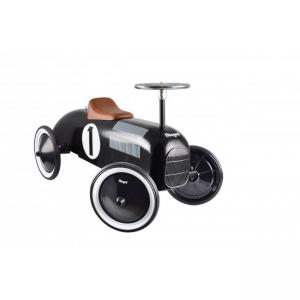 Goki Metall Ride-On-Vehicle with Plastic Seat & Fuel Cap Black