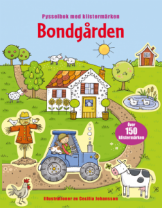 Tukan Förlag Bondgården Pysselbok med Klistermärken