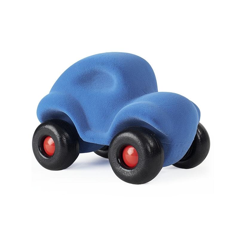 Leklyckan Rubbabu Naturlig Skumgummi Stor Bil Ljusblå