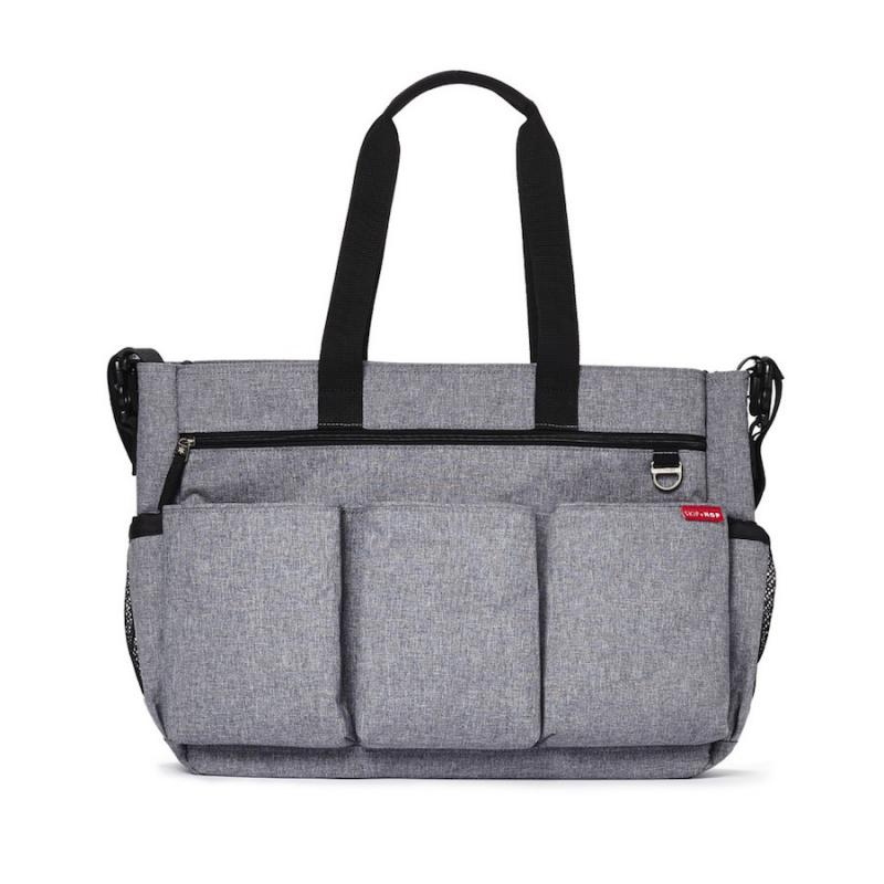 Skip Hop Duo Double Signature Heather Grey Grå