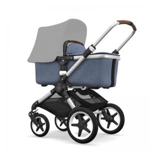 Bugaboo Fox Aluminium Chassi Blue Melange Style Set (Box 1 & 2 av 3 Styled By You)