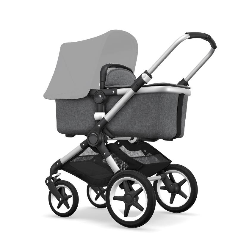 Bugaboo Fox Aluminium Chassi Grey Melange Style Set (Box 1 & 2 av 3 Styled By You)