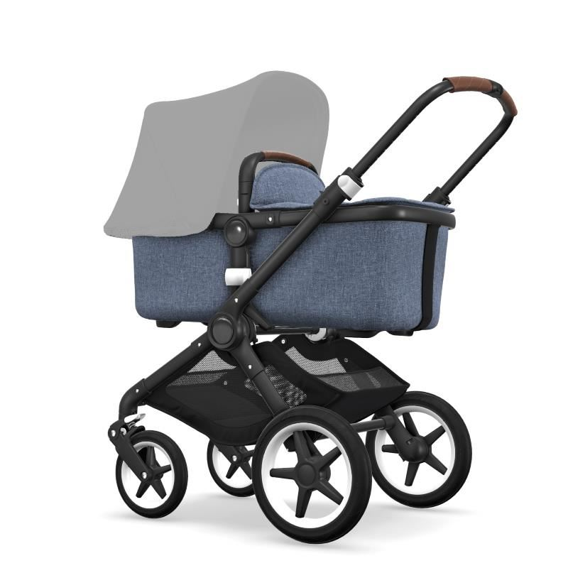 Bugaboo Fox Black Chassi Blue Melange Style Set (Box 1 & 2 av 3 Styled By You)