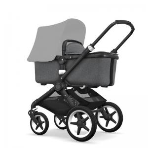 Bugaboo Fox Black Chassi Grey Melange Style Set (Box 1 & 2 av 3 Styled By You)