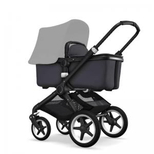 Bugaboo Fox Black Chassi Steel Blue Style Set (Box 1 & 2 av 3 Styled By You)