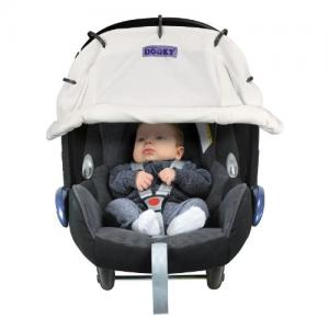 Dooky Cover for Stroller & Car Seat White