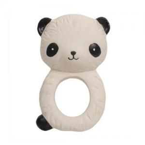 A Little Lovely Company Teething Ring Natural Rubber Panda