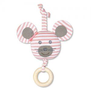 Apple Park Farm Buddies Stroller Toy Ballerina Mouse