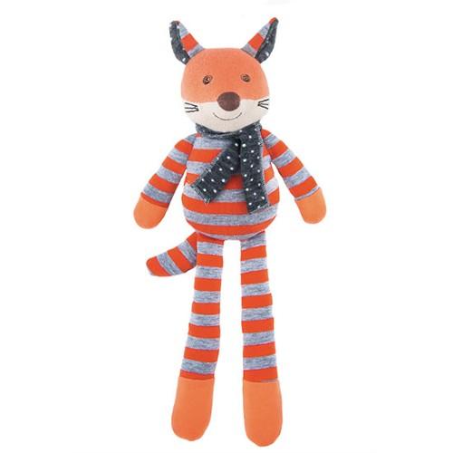Apple Park Farm Buddies Stuffed Animal Frenchy Fox