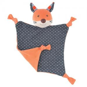 Apple Park Farm Buddies Comfort Blanket Frenchy Fox