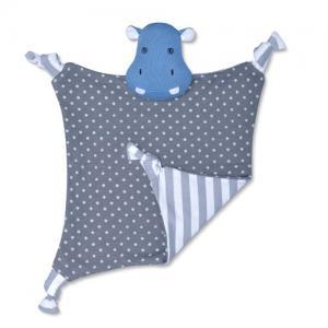Apple Park Farm Buddies Comfort Blanket Jojo Hippo