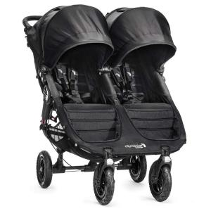 Baby Jogger City Mini GT Double Black / Grey