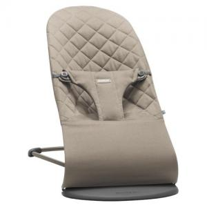 Baby Björn Bouncer Bliss Sand Gray Cotton