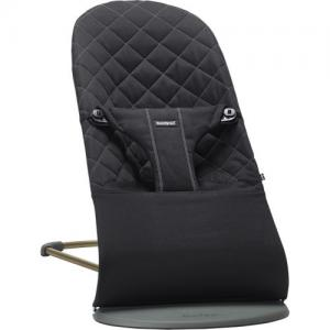 Baby Björn Bouncer Bliss Black Cotton