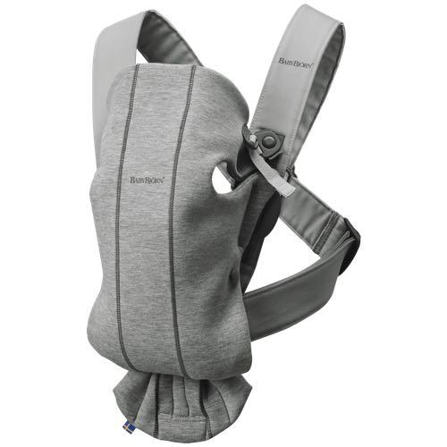 Babybjörn Bärsele Mini Ljusgrå 3D Jersey (Cotton)