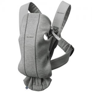 Babybjörn Carrier Mini Light Grey Jersey (Cotton)