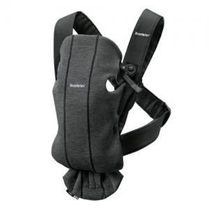 Babybjörn Baby Carrier Mini Charcoal Grey 3D Jersey (Cotton)
