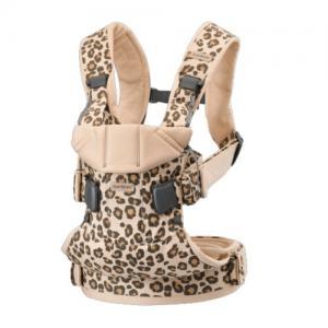 Babybjörn Baby Carrier One Beige / Leo Comfy Cotton