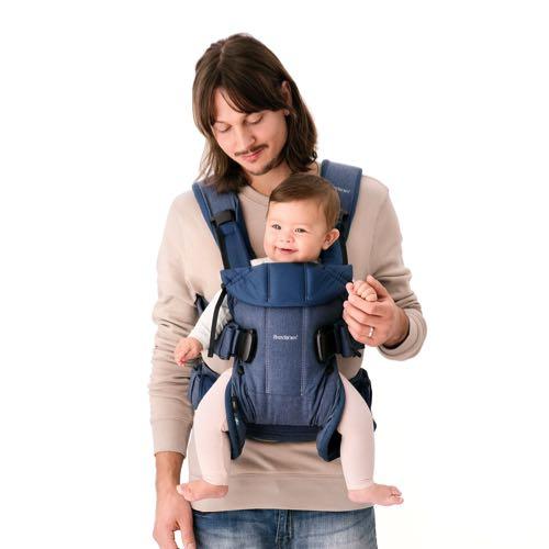 4b880e21b89 BabyBjörn Baby Carrier One Black Cotton Mix Lilla Violen Jonkoping