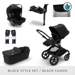Bugaboo Fox2 Complete Stroller Set Black