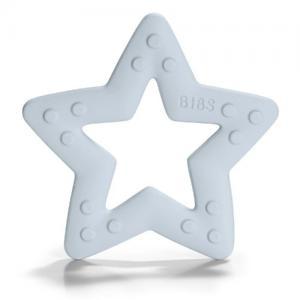 Bibs Bitring Stjärna Baby Blue