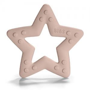 Bibs Bitring Stjärna Blush