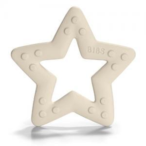 Bibs Bitring Stjärna Ivory