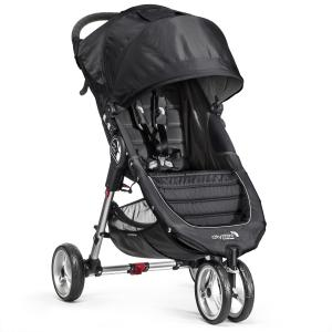 Babyjogger, City Mini, Single Stroller, 3 Wheels, Black
