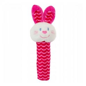 Bobobaby Baby Rattle Squeaky Toy - Bunny