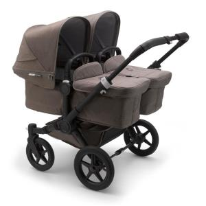 Bugaboo Donkey3 Twin Mineral BLACK / TAUPE Complete Stroller