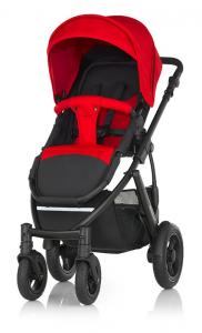 Britax Smile 2 Flame Red Svart Chassi