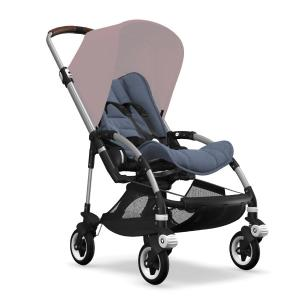 Bugaboo Bee5 Aluminium Chassi Blue Melange Style Set (Box 1 & 2 av 3 Styled By You)