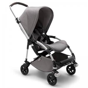 Bugaboo Bee5 Mineral Light Grey Aluminium Chassis Complete Pushchair
