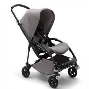Bugaboo Bee5 Mineral Light Grey Black Chassis Complete Pushchair