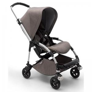 Bugaboo Bee5 Mineral Taupe Aluminium Chassi Komplett Sittvagn