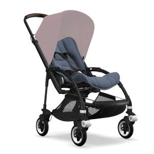 Bugaboo Bee5 Black Chassi Blue Melange Style Set (Box 1 & 2 av 3 Styled By You)