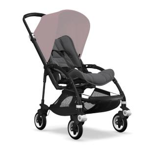 Bugaboo Bee5 Black Chassi Grey Melange Style Set (Box 1 & 2 av 3 Styled By You)