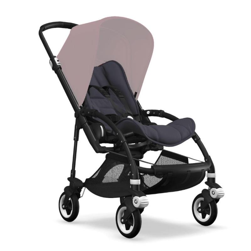 Bugaboo Bee5 Black Chassi Steel Blue Style Set (Box 1 & 2 av 3 Styled By You)