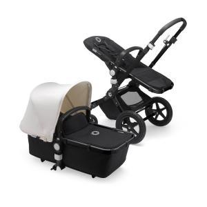Bugaboo Cameleon3 Plus BLACK / BLACK - FRESH WHITE Complete Stroller